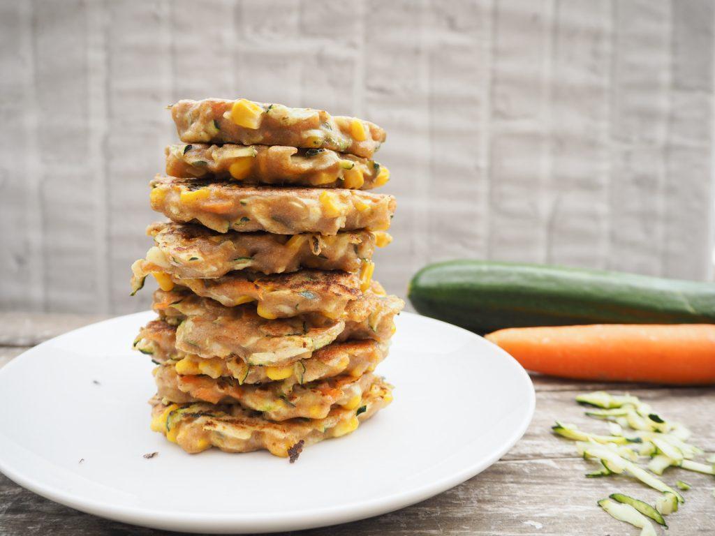 Zucchini Mais Puffer