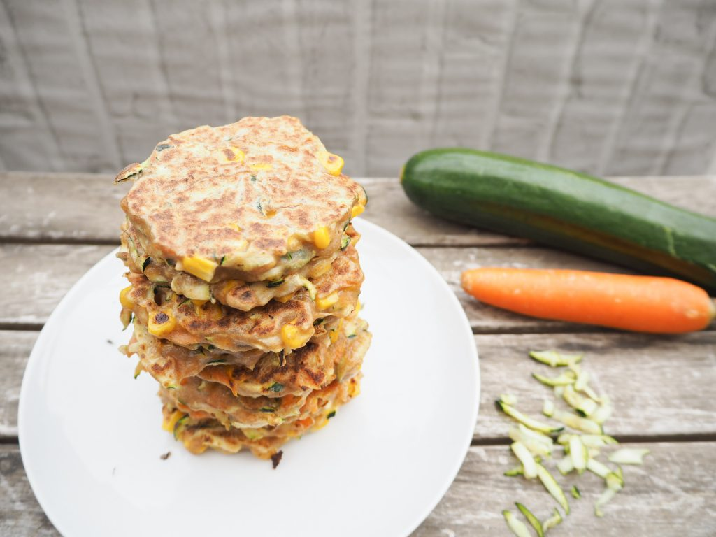 Zucchini Mais Pancakes