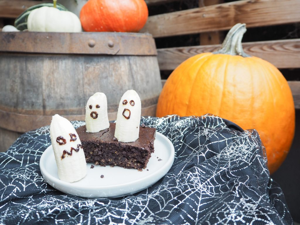 Halloween Fudge Brownies