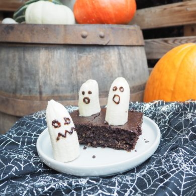 Halloween Fudge Brownies